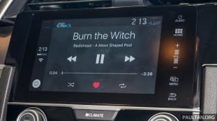 2016 Honda Civic 1.5T Premium Display Audio 7