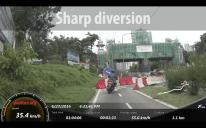 Federal Highway motorcycle lane - 128
