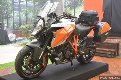 2016 KTM Super Duke GT Launch -62