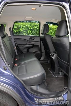 Honda CR-V Facelift Review 52