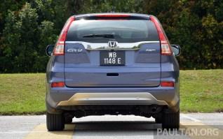 Honda CR-V Facelift Review 8