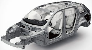 Volvo XC90 airbags
