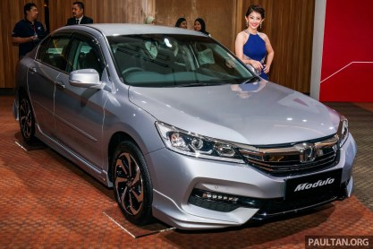 2016 Honda Accord Facelift Now In M Sia From Rm145k 2 4 Vti L