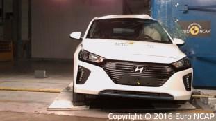 Hyundai Ioniq Euro NCAP 6