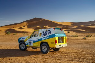 30 years on: Nissan's iconic 1987 Paris-Dakar rally car rides again