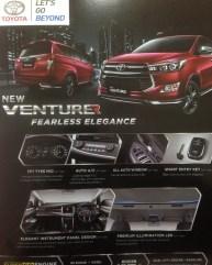 Toyota Innova Venturer leaked brochure 1
