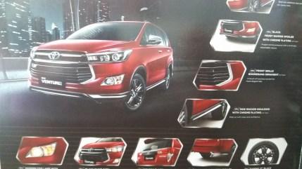 Toyota Innova Venturer leaked brochure 2
