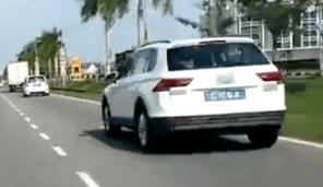 Volkswagen Tiguan spyshot BM