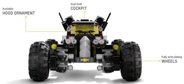 LEGO Batmobile Chevrolet 17