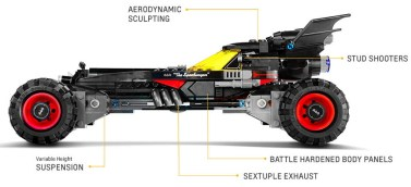 LEGO Batmobile Chevrolet 18
