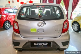 2017 Perodua Axia facelift officially launched - 1.0L VVT