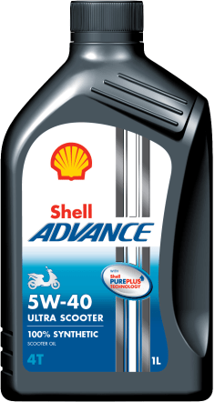 1-litre_Shell Advance 4T Ultra Scooter 5W40