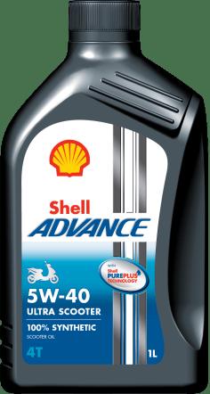 1-litre_Shell Advance 4T Ultra Scooter 5W40