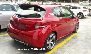 2017 Peugeot 208 GTI Malaysia spied 3