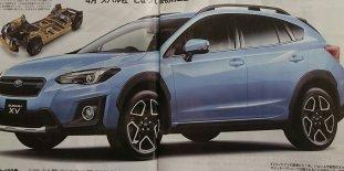 2018 Subaru XV Leaked-01