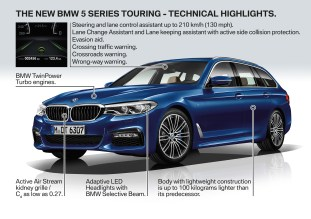BMW G31 5 Series Touring tech-1