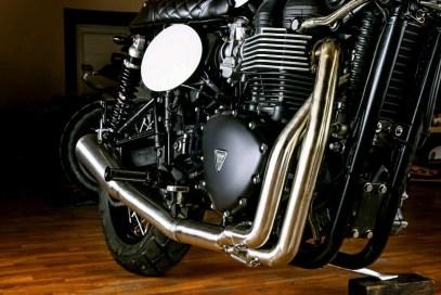 Macco Motors The Saint Triumph T100 Bonneville - 16