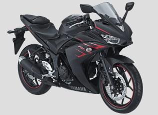 2017 Yamaha YZF-R25 Black