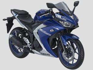 2017 Yamaha YZF-R25 Blue
