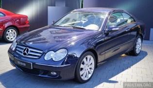 C209 Mercedes-Benz E-Class Coupe 2