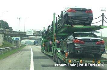 G30 BMW 5 Series Malaysia spyshots 1