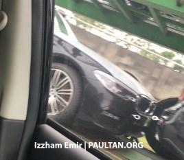 G30 BMW 5 Series Malaysia spyshots 3