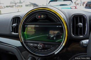 F60 MINI Cooper S Countryman ALL4 review-int 19