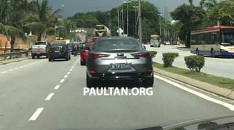 Infiniti Q60 Malaysia spotted 2