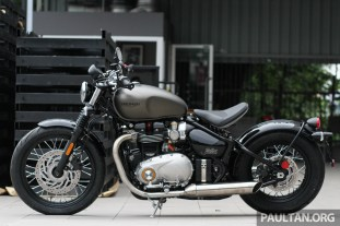 2017 triumph street scrambler and bobber now in malaysia - priced