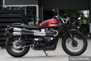 2017 Triumph Street Scrambler And Bobber Now In Malaysia Priced At