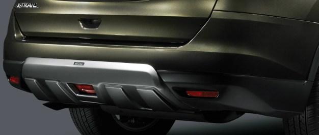 06_New Nissan X-Trail Aero Edition_TOMEI Rear Bumper