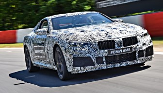 BMW M8 official spyshots-16