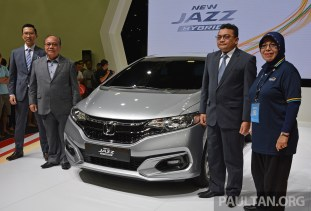 Honda Jazz Hybrid Facelift Malaysia 1