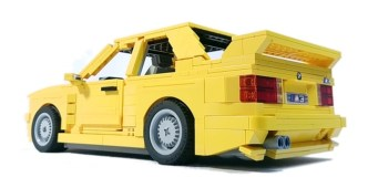 Lego BMW M3 yellow (2)