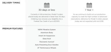 Tesla Model 3 Model S comparison 3