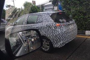 Toyota Yaris Thai spyshots-5