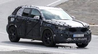 Volvo XC40 spyshots 5