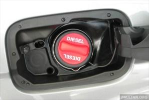 diesel euro2 fuel cap