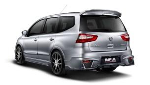 02 New Nissan Grand Livina IMPUL_Rear