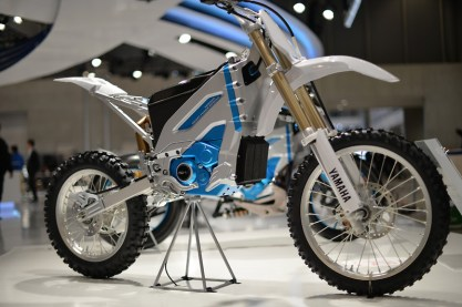 For yamaha the future is not just electric dreams for Yamaha electric motorcycle