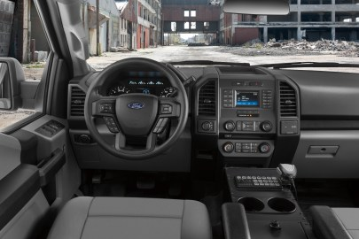 All-new F-150 Police Responder is ready for action with a specially designed interior; performance features include police-calibrated brake system, all-terrain tires and 18-inch alloy rims, plus the largest passenger volume of any pursuit-rated vehicle