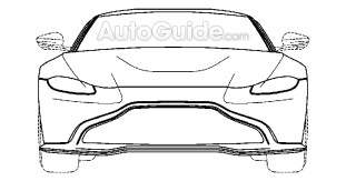 New Aston Martin Vantage patent images 3