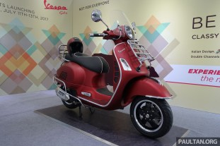 Vespa GTS 300 Yellow BM 07