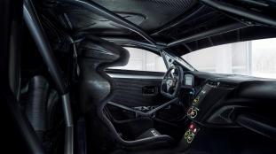 Acura NSX GT3 Race Car Prototype Interior