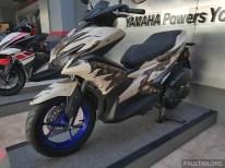 2017 Yamaha NVX 155 special graphics -14 BM