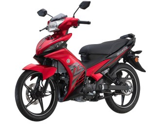 2017 Yamaha Y135LC Red - 8