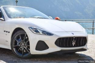 2018 Maserati GranCabrio review 6