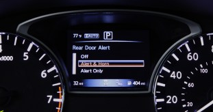 With summer heat on the rise, potential issues posed by interior car temperatures are even more real, but Nissan hopes its new Rear Door Alert (RDA)1 may help reduce concerns. The new system utilizes door sequence logic, center instrument panel message display and industry-first multiple horn honks to help remind drivers to check the rear seat after the vehicle is parked. The system can help remind customers of anything that may be forgotten in the rear seat. First-ever Nissan application will be standard on the family-friendly three-row 2018 Pathfinder SUV.