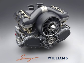 Singer Williams Porsche engine (2)