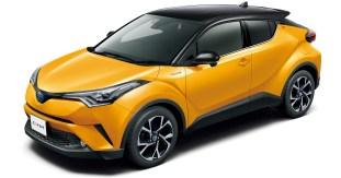 Toyota C-HR two-tone colour 7